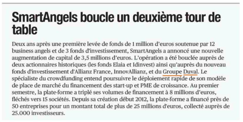 SmartAngels finance son accélération avec 3,5 M€